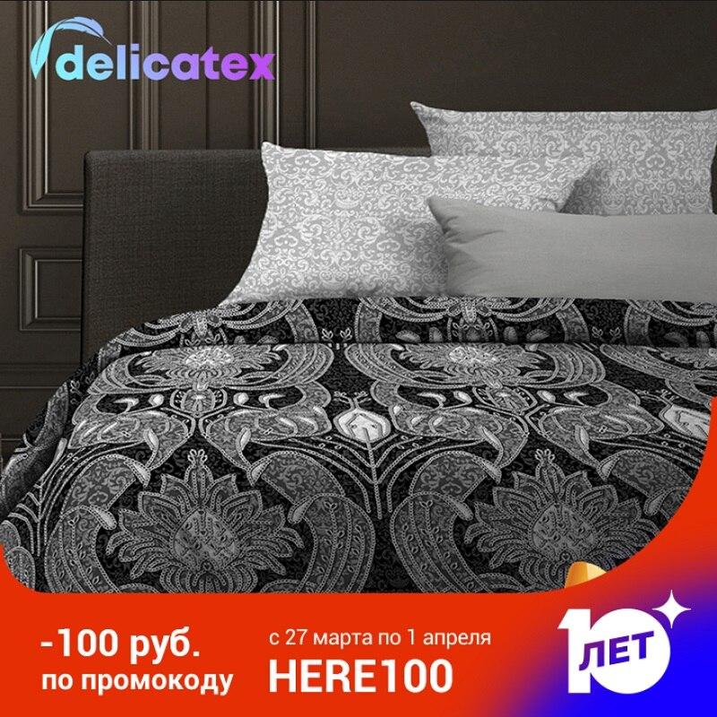 Jogo do fundamento delicatex 6468-1 + 6469-1-hamburg casa têxtil lençóis de cama de linho capas de almofada capa de edredão ilillowcase