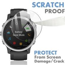 9H Premium Tempered Glass For Garmin Fenix 6S Fenix 6S Pro Smartwatch Screen Protector Explosion Proof Film Accessories