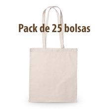 Sac en tissu de coton, poignées biodégradables, réutilisables, longues et résistantes Pack 25 und. Shopping, Shopping, sac fourre-tout, artisanat