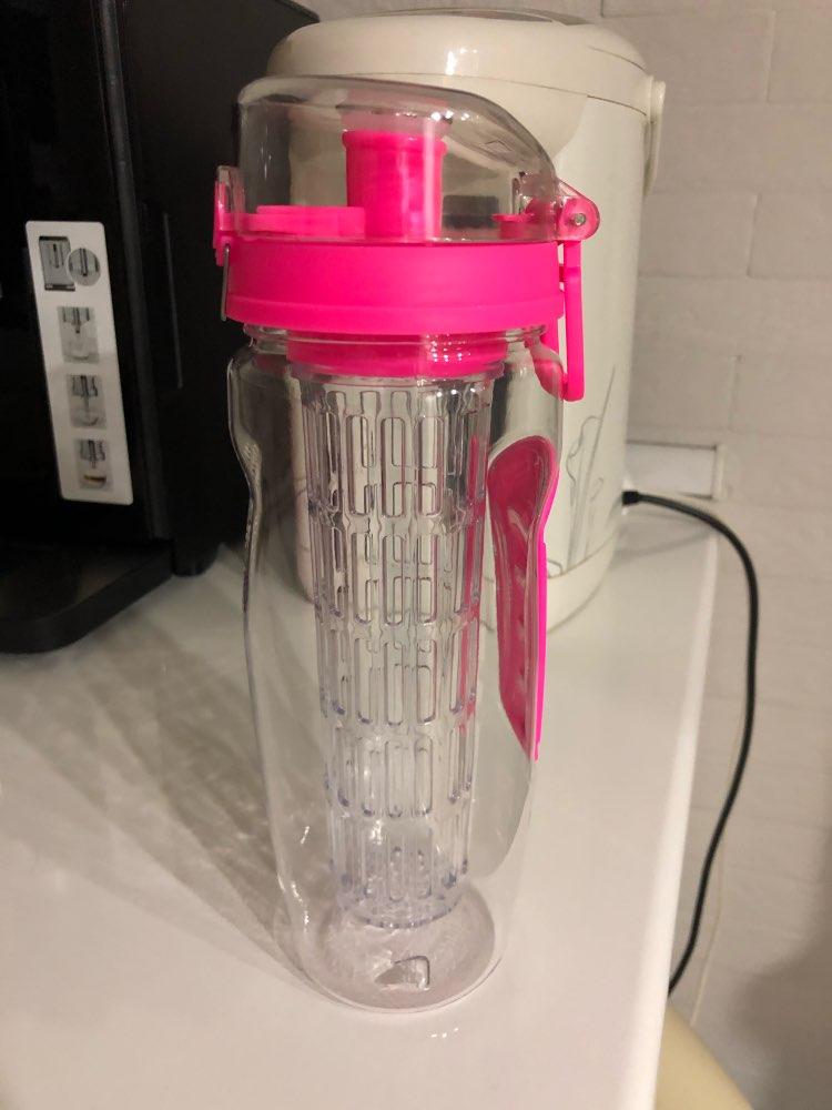 BAISPO 32oz 900ml BPA Free Fruit Infuser Juice Shaker Sports Lemon Water Bottle Tour hiking Portable Climbing Camp Bottles|Water Bottles|   - AliExpress