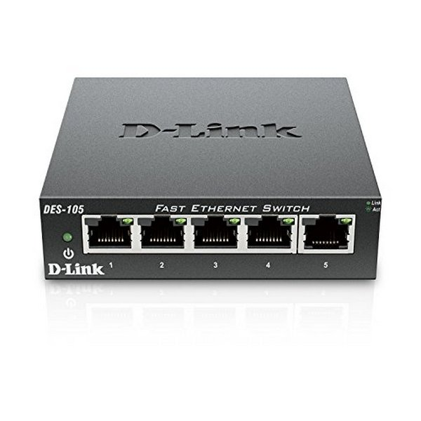 Desktop Switch D-Link DES-105 LAN