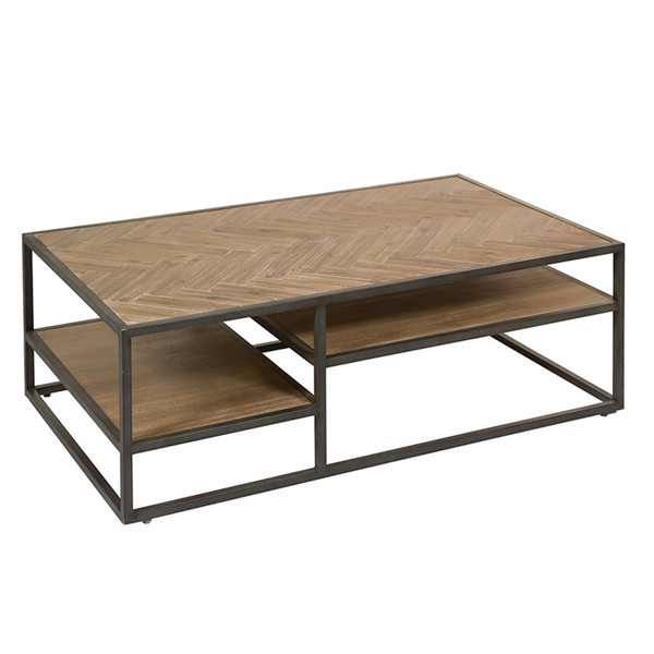 Centre Table (120 X 70 X 40 Cm) Acacia Iron