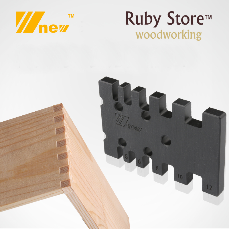 Box Joint Jig Adjuster, Metric And Imperial