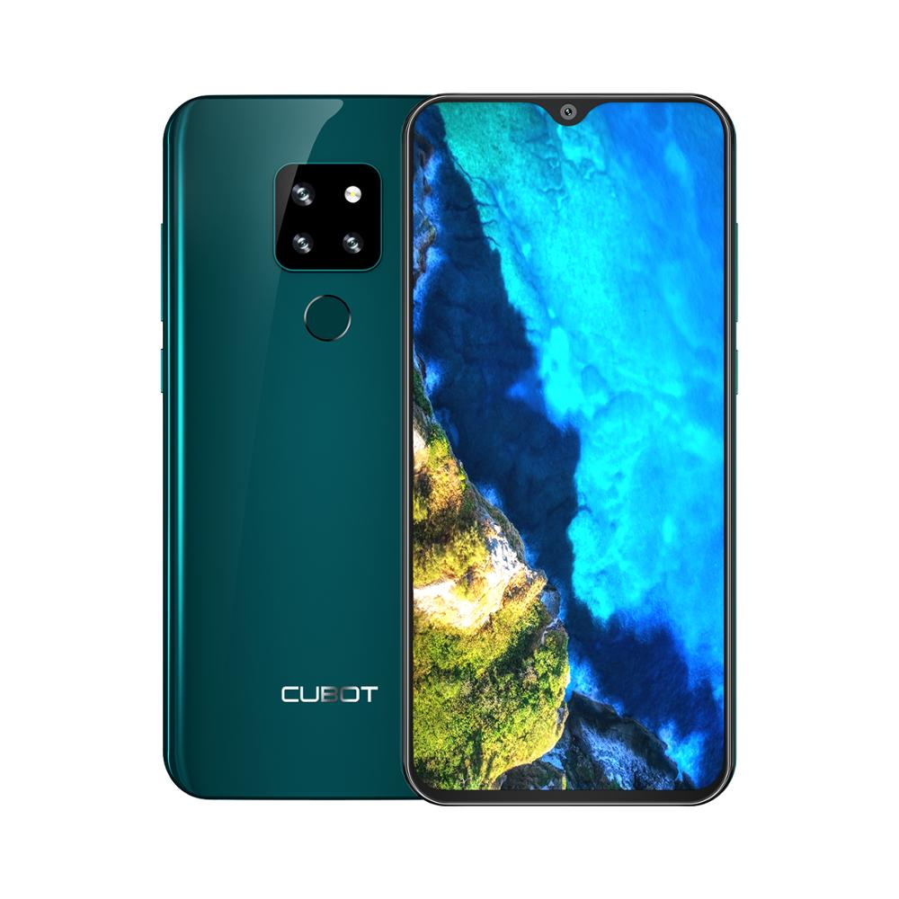 Cubot p30 smartphone 6.3 2340x1080 p 4 gb + 64 gb android 9.0 torta helio p23 ai câmeras face id 4000 mah telefone celular para dropshipping - 3