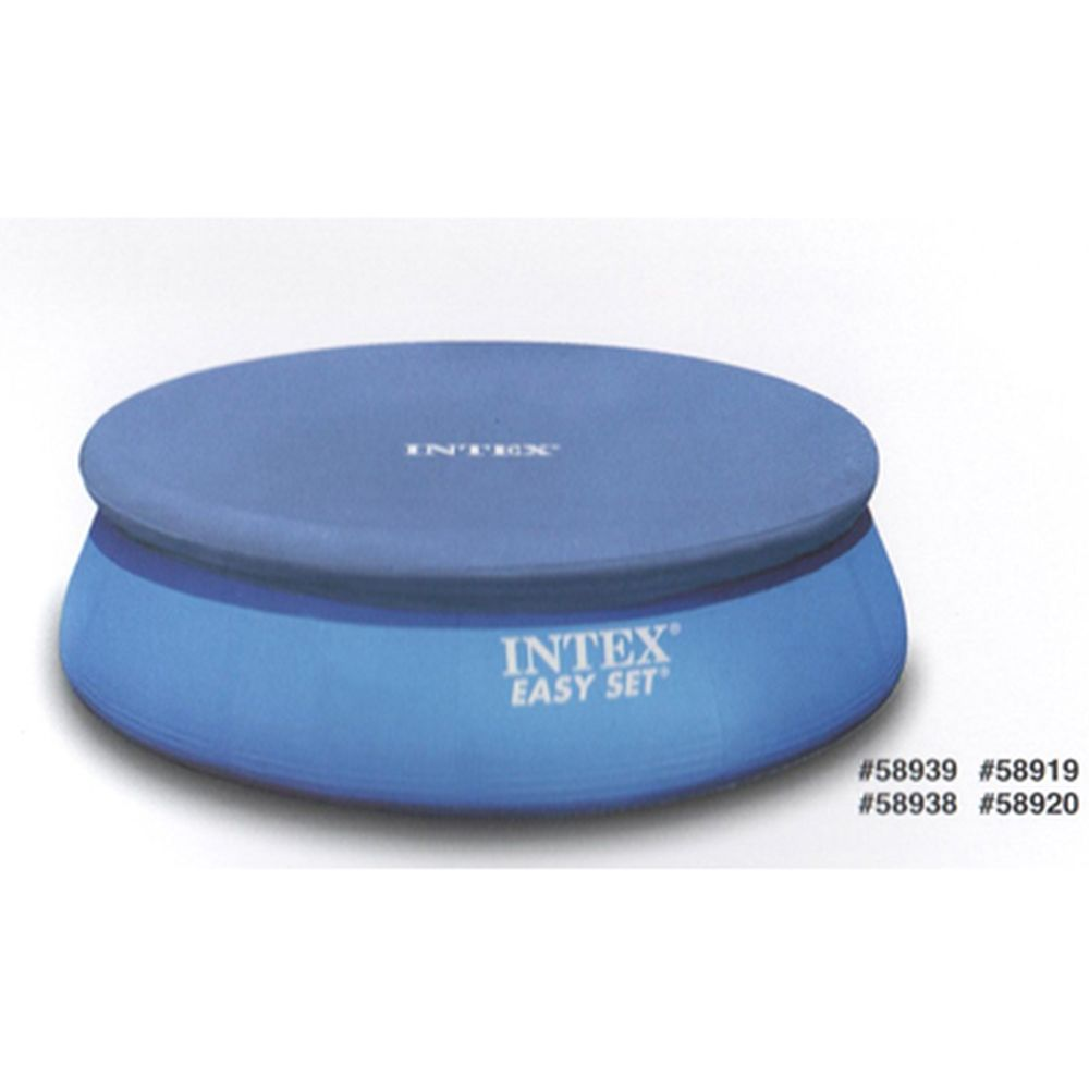 COVER FOR THE ROUND POOL INTEX 28020 WITH INFLATABLE BOARDS, D. 244CM