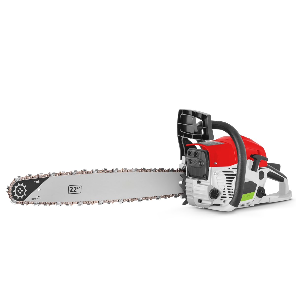 Chainsaw Gasoline-powered 2-stroke 68cc And 3,9cv And Sword-22 '', Arranque Easy-Start, Anti-Vibration System