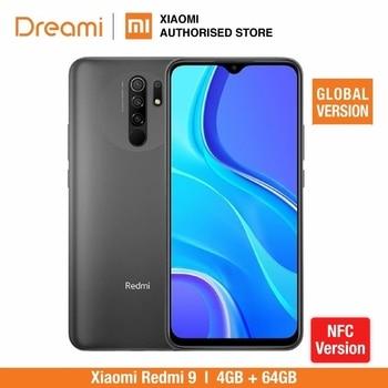 Global Version Xiaomi Redmi 9 64GB ROM 4GB RAM NFC option (Brand New / Sealed) redmi9, redmi9 64, Smartphone, mobile, telephone телефон xiaomi mi a3 4gb 64gb серый global version