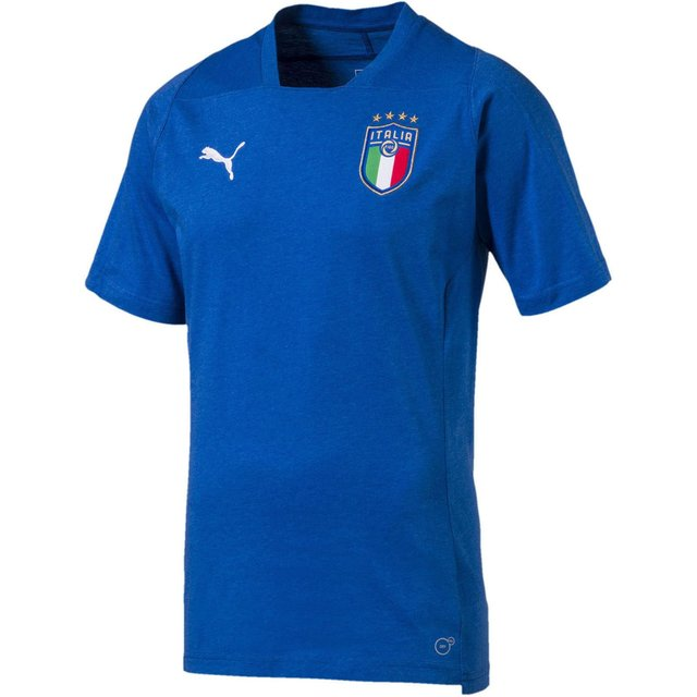 Мужская футболка Puma Figc Italia Casual SS 75232309
