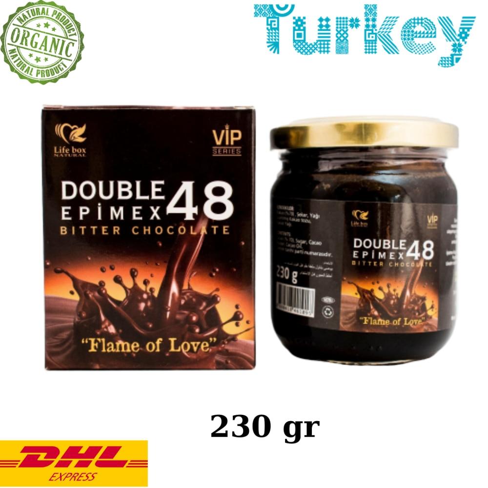 Life Box Double Epimex Aphrodisiac Epimedium With Chocolate – Turkish Macun, 230gr