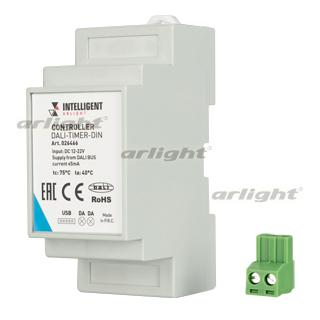 026466 INTELLIGENT ARLIGHT Controller DALI TIMER DIN (DALI BUS RTC) ARLIGHT 1-pc