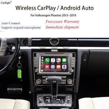 Interfaz de teléfono inteligente actualización CarPlay inalámbrico/iPhone de Apple CarPlay de Phaeton para OEM unidad fábrica entretenimiento