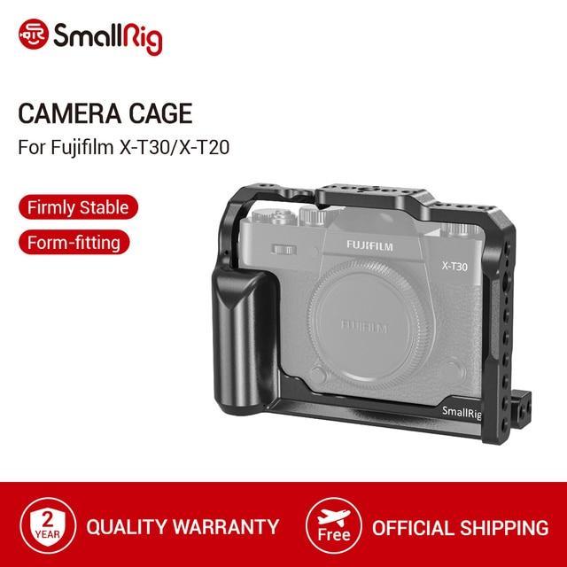 Smallrig X T30 Lồng Cho Máy Ảnh Fujifilm X T30 Và X T20 Máy Ảnh DSLR Lồng Có Tích Hợp Tay Cầm Phụ + Arri Định Vị LỖ  2356