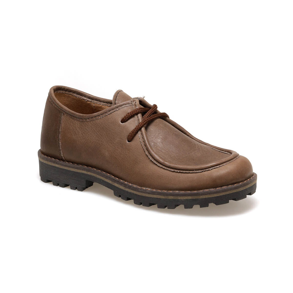 FLO 3608 F4 Brown Male Child Shoes Kifidis