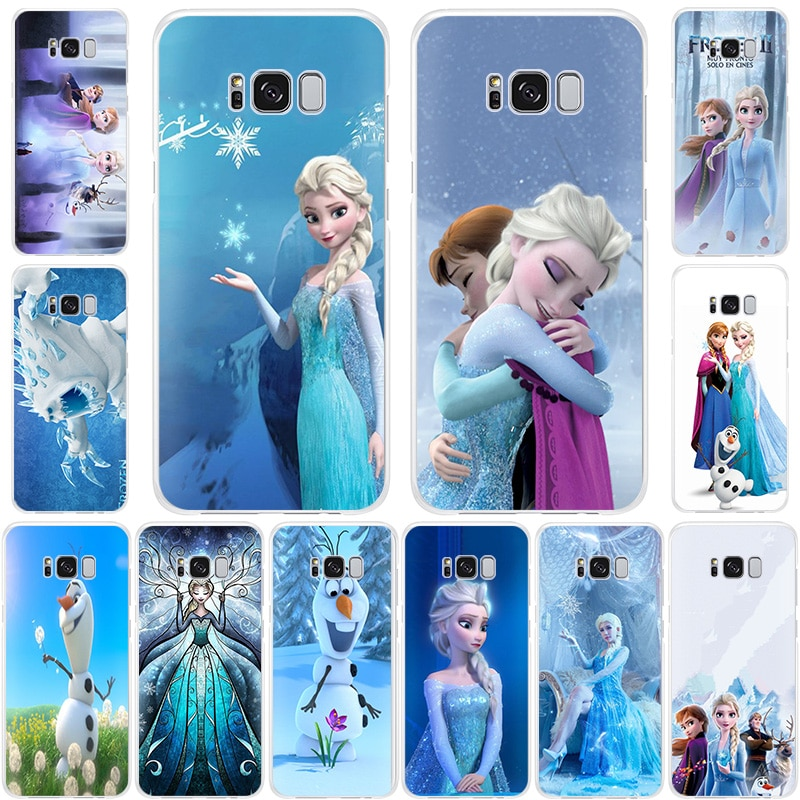 Frozen 2 Princess Elsa Anna cute olaf Soft Silicone phone case for Samsung Galaxy Note10 10Pro <font><b>S105G</b></font> S9 Note9 S8Plus S7 S6 cover image