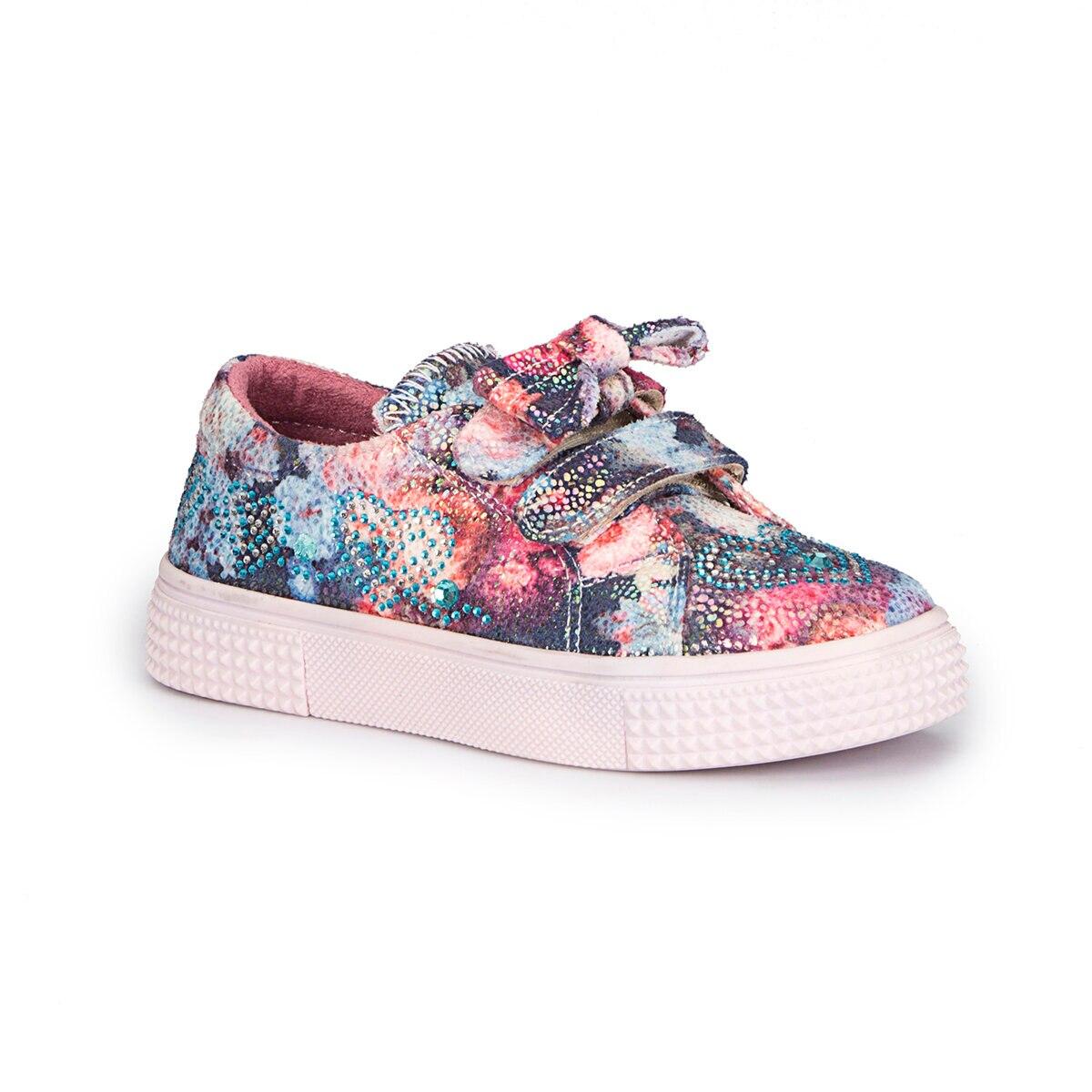 FLO STER-1 Multicolour Female Child Sneaker Shoes PINKSTEP