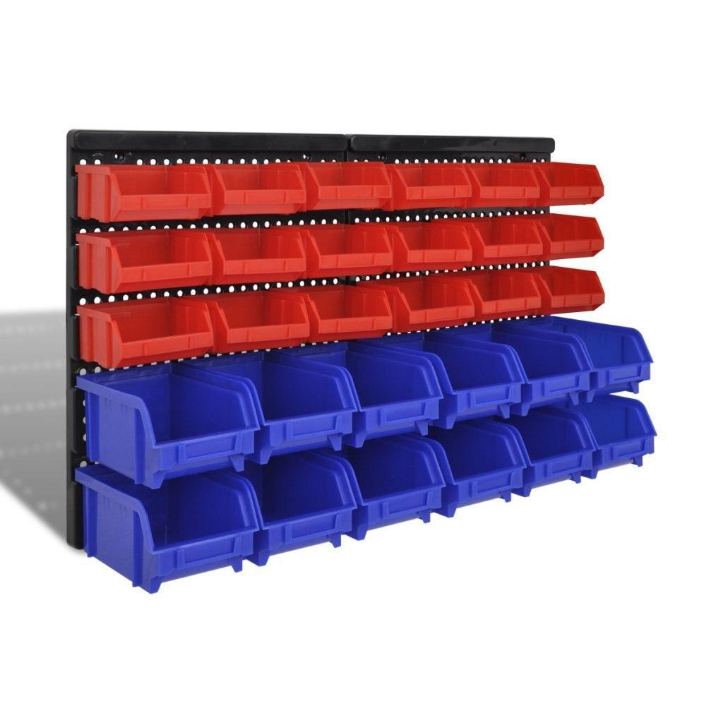 32 шт. DIY настенная Полка инструмент Штабелируемый Органайзер Чехлы модуляционные тарелки