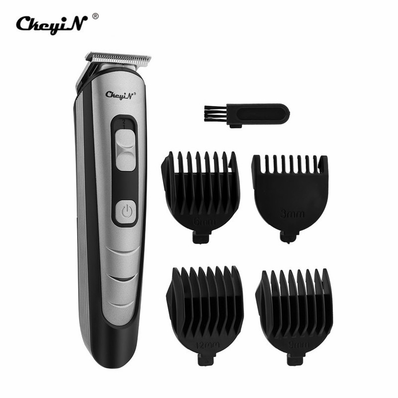 Professional Rechargeable Hair Clipper With 4 Heads Hair Trimmer Men Barber Hair Cutting Machine Hair Shaver Tool Hair Trimmer 1