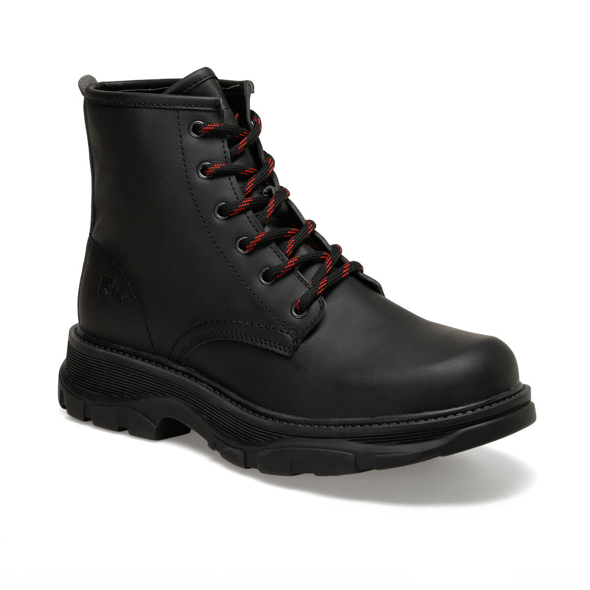 FLO JORDAN 9PR Black Men Boots LUMBERJACK