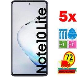 Szkło hartowane 5x do SAMSUNG GALAXY NOTE 10 LITE nie obejmuje wszystkich ochraniaczy ze szkła hartowanego 5x