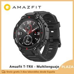 Lanzamiento exclusivo Amazfit T-REX Smart watch deporte exterior reloj inteligente xiaomi GPS bluetooth [Versión Global]