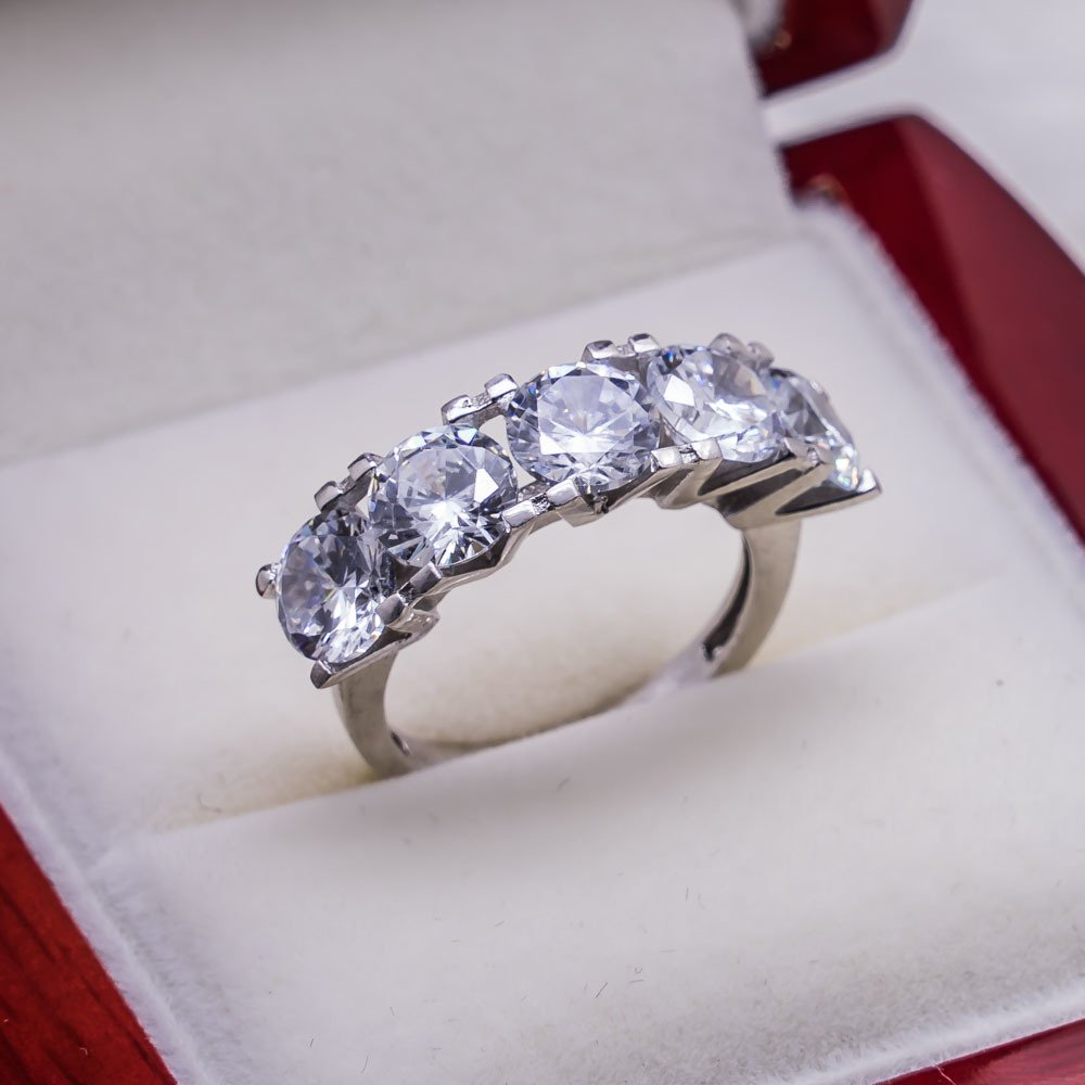925 sterling Silver Dibs Lady Ring Model 3()