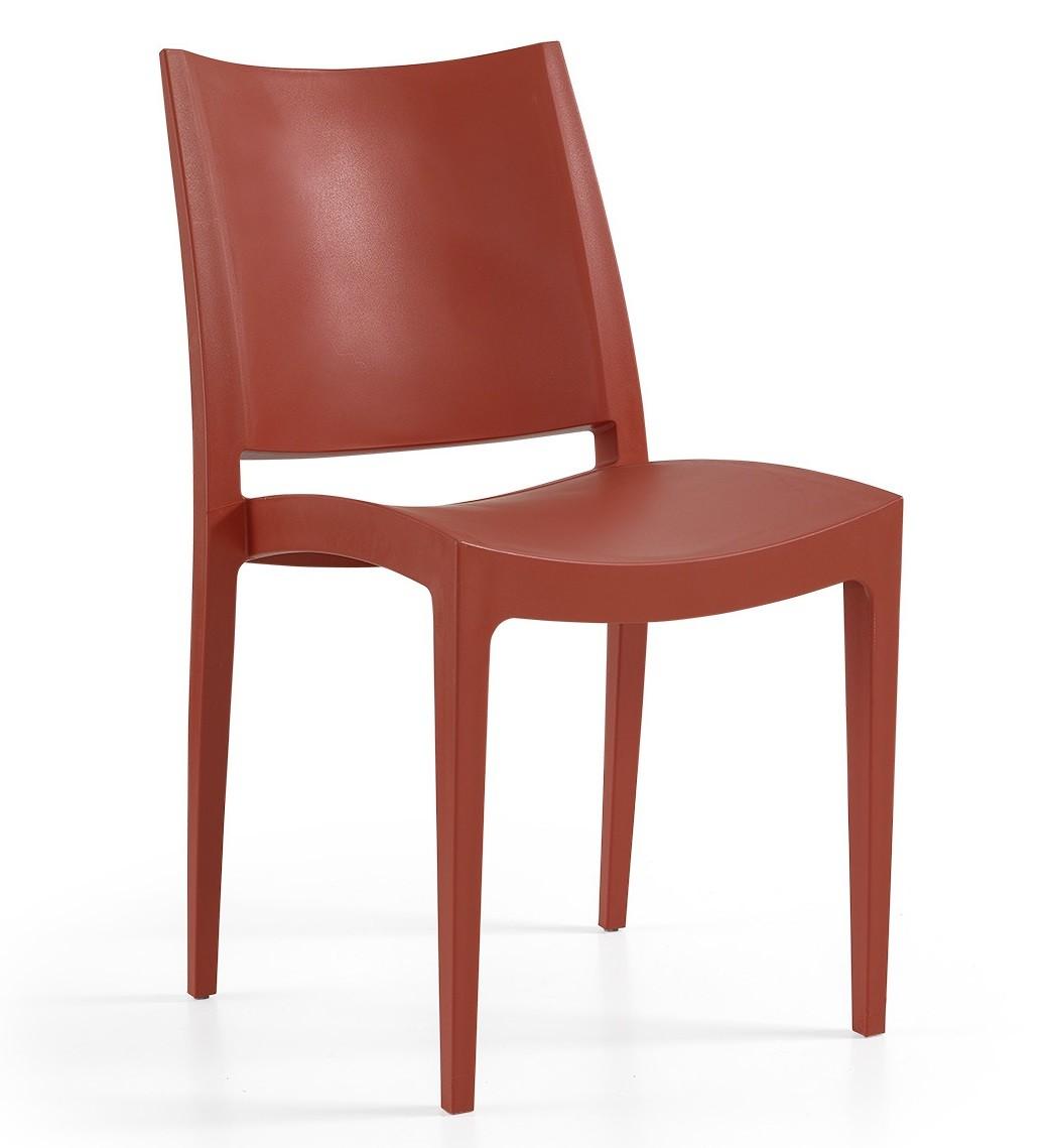 Chair BEYBE, Stackable, Polypropylene Brick Network
