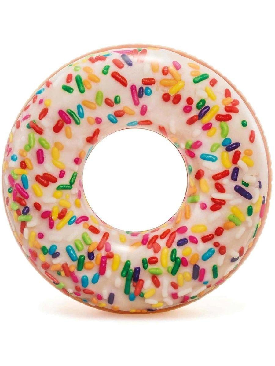 Inflatable Circle Donut Sprinkle Donut Tube. 114 Cm 9 +