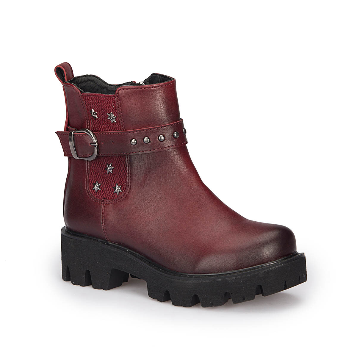 FLO 72.509649.F Burgundy Female Child Boots Polaris
