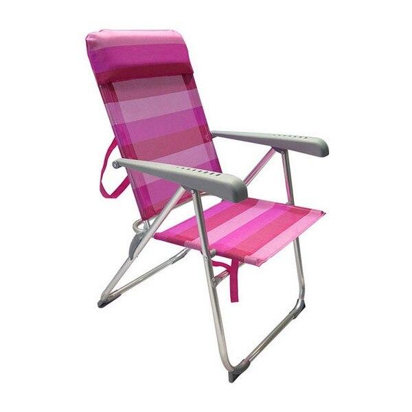 Folding Chair Pink (63 X 58 X 96 Cm)