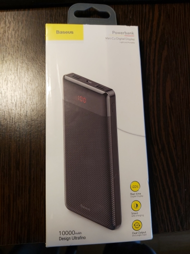 Baseus 10000mAh Power Bank Dual USB External Battery Pack with Digital Display Powerbank Portable Charger For Phone|Power Bank|   - AliExpress