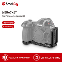 SmallRig G9 L Beugel Plaat voor Panasonic Lumix G9 Arca-Swiss Standaard L Plaat Montageplaat-2191