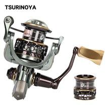 Tsurinoya Vissen Reel Jaguar 2000 3000 9 + 1BB Dubbele Spoelen Anit-Corrosie Zoetwater Saltwater Spinning Reel Bass Pike reel