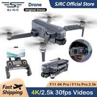 SJRC F11 Pro 4K F11s Pro 2,5 K Kamera Drone GPS 5G FPV HD 2 Achse Stabilisiert Gimbal EIS Professionellen Bürstenlosen Quadcopter RC Eders