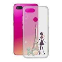 Funda para Móvil Xiaomi Mi 8 Lite Contact Flex France TPU
