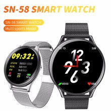 SN58 Smart Watch with Pressure measurement IP68 Waterproof Fitness tracker fitness bracelet for men women activity