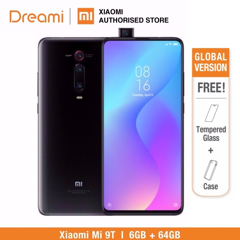 Global Version Xiaomi Mi 9T 64GB ROM 6GB RAM (Brand New and Sealed Box) mi9t