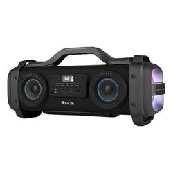 Portable Bluetooth Speakers Boombox NGS Street Breaker LED 4400 mAh 200W Black