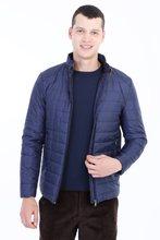 Kigili masculina outono inverno quente casual fino ajuste acolchoado poliéster casacos de alta qualidade feitos na mistura de peru masculino capuz casaco