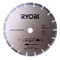 Ryobi AGDD230A1 230mm Diamond Concrete Cutting Disc