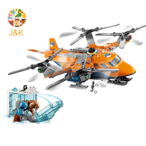 Image 4 - CITY 310pcs Arctic Air Transport Compatible  60193 Model Building Block Toy For Children Birthday Gifts