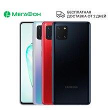 Смартфон Samsung Galaxy Note10 Lite 6/128GB [Ростест, доставка от 2 дней, новый, SIM любых операторов, официальная гарантия]
