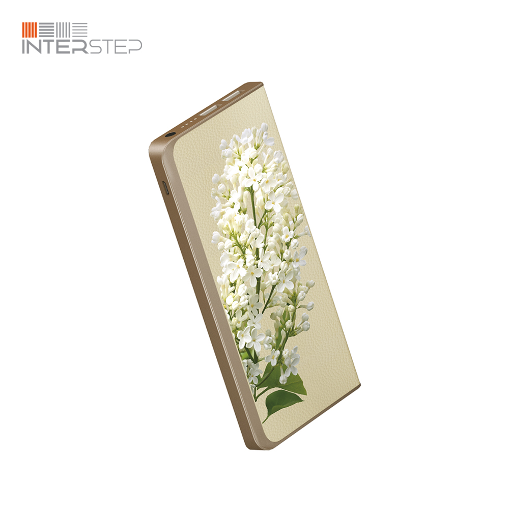External Battery INTERSTEP 6000 Lilac White interstep hdp 150 white