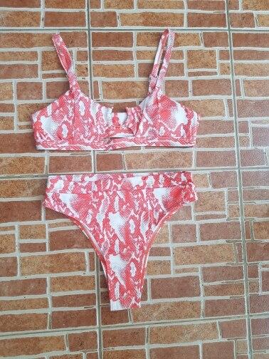Riseado 2020 Bikinis Women Swimsuits High Waisted Swimwear Push Up Bathing Suits Leopard Beach Wear biquini Brazilian Bikinis Bikini Set    - AliExpress