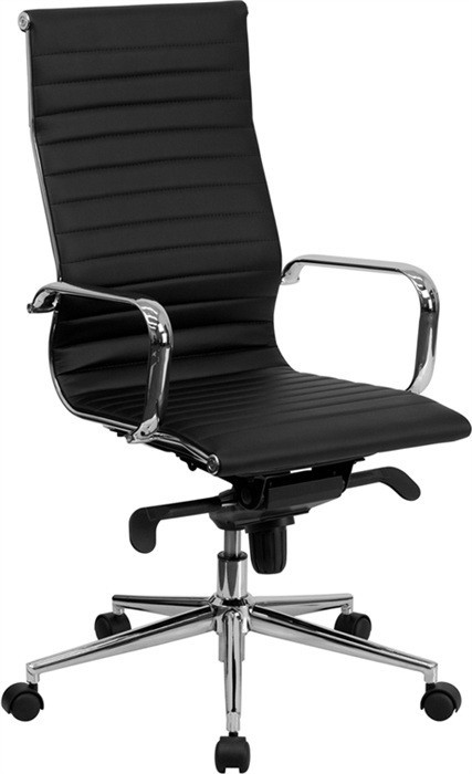 Office Armchair ALABAMA, High, Similpiel Black