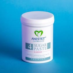 Zucker Paste für zuckern, ANESTET dichten 4, 330 gr. Haar entfernung, depiladora, depilacion, gesichts haar remover, epilation wachsen