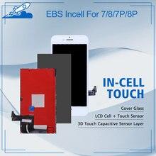 Elekworld EBS Incell آيفون 7/8/7 زائد/8 plus شاشة LCD مع لهجة اللمس ثلاثية الأبعاد المدعومة