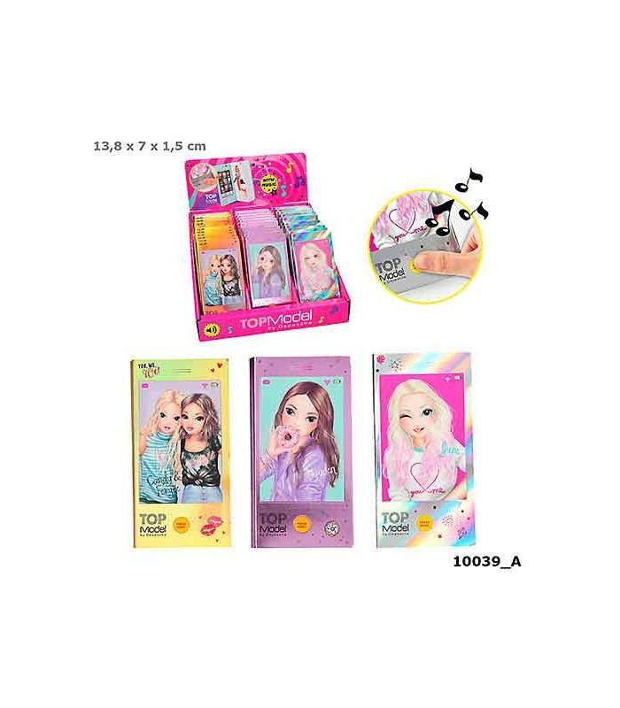 Topmodel Mini Coloring Book With Musi Toy Store