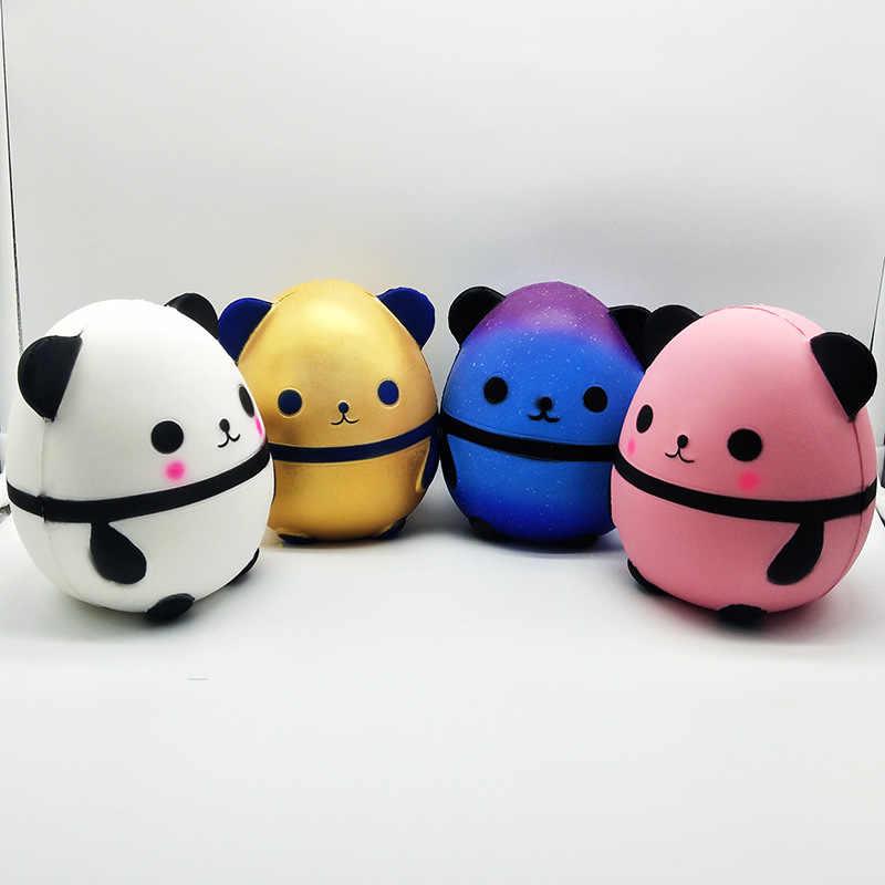 かわいい大パンダ卵遅い上昇シミュレーション動物フワフワおもちゃストレス緩和剤ソフトスクイズクリスマスプレゼントのおもちゃ