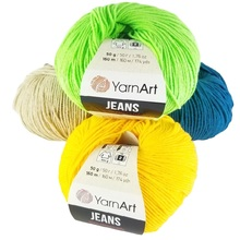 Yarnart джинсы пряжа 50gr-160mt % хлопок 55-% 45 PolyAcr кардиган свитер шаль-блузка домашний текстиль Вязание амигуруми Вязание пряжа нитки для вязания но...