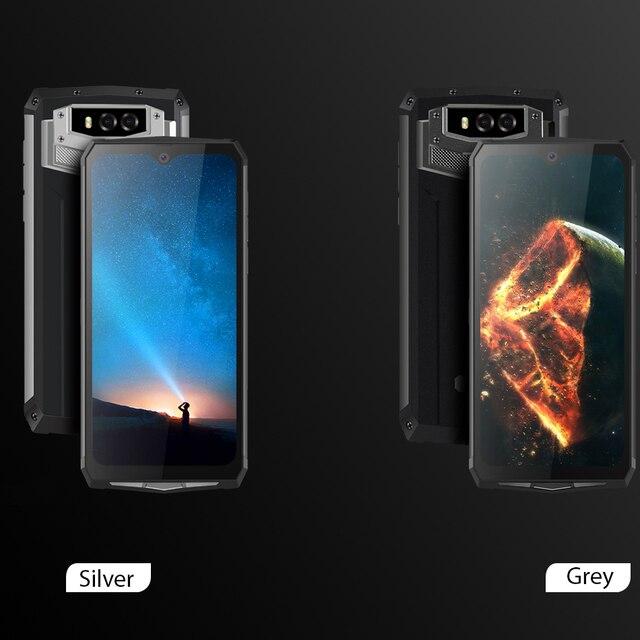 Blackview BV9100 IP68 Waterproof Cellphone 13000mAH 30W fast charging 4G Mobile Phone MTK6765 4GB+64GB 16.0MP Rugged Smartphone 6